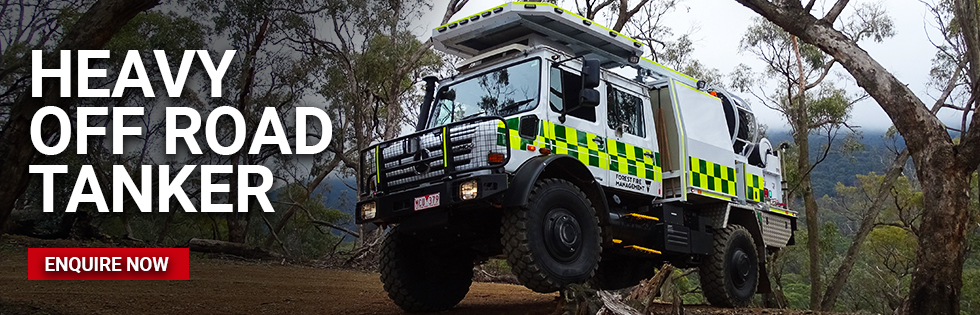 Heavy off road tanker