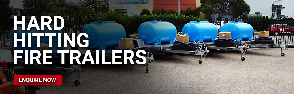Fire Trailers with High or Low pressure options